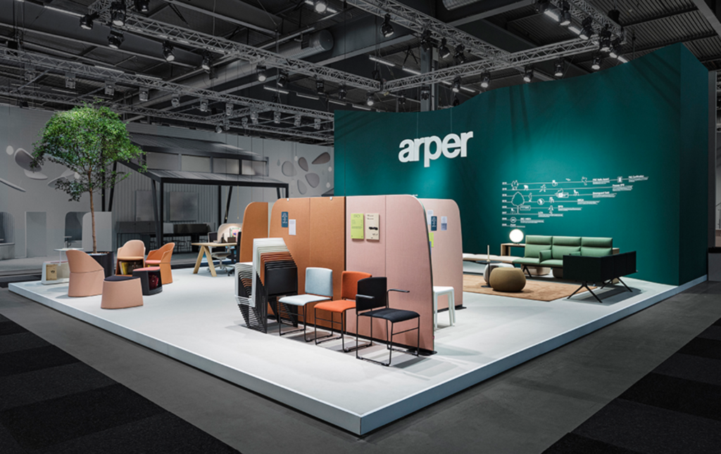 Arper - Stockholm Furniture Fair 2020