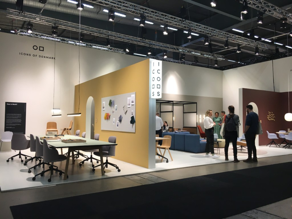 Icons of Denmark exhibiting activity based working