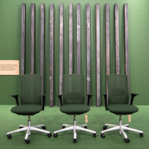 Flokk furniture - recycled steel
